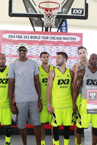Team Saskatoon, Team Denver, 2014 World Tour Chicago, 3x3 game, 16 August, Day 2.