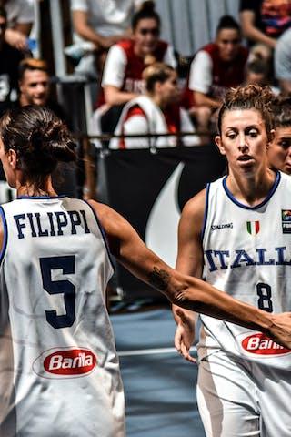 5 Marcella Filippi (ITA) - 8 Giulia Rulli (ITA)