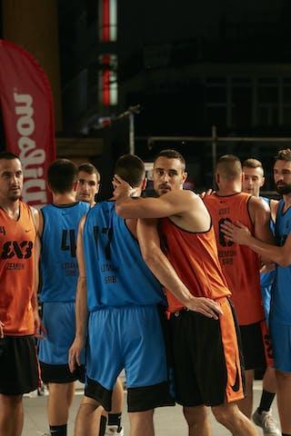 4 Stefan Stojačić (SRB) - 5 Marko Brankovic (SRB) - 6 Stefan Kojic (SRB) - 17 Aleksandar Ratkov (SRB) - 6 Lazar Rasic (SRB) - 5 Marko Dugosija (SRB) - 4 Nikola Vukovic (SRB) - 3 Bogdan Dragovic (SRB)