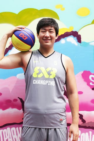 #5 Sun Zhonghao, Team Changping, FIBA 3x3 World Tour Beijing 2014, 2-3 August.