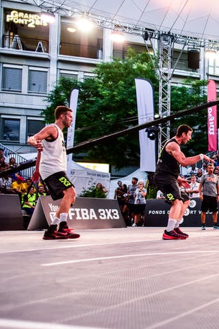 3 Álvaro Asier Martínez (ESP) - 5 Alvaro Calvo (ESP) - 6 Sergio De La Fuente (ESP) - 4 Derrick Lang (SUI) - 5 Yino Martinez (SUI) - 3 Marco Lehmann (SUI) - Lausanne v Valladolid, 2016 WT Lausanne, Pool, 26 August 2016