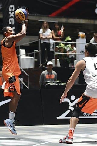3 David Seagers (URU) - 4 DemiàN Alvarez (URU) - Montevideo v NY Harlem, 2016 WT Mexico City, Last 8, 17 July 2016