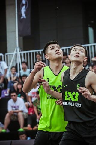 5 Liu Qi Yao (CHN) - 3 Zhanyu Wang (CHN)