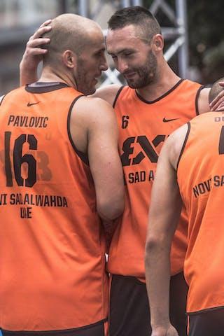 16 Nikola Pavlovic (UAE) - 6 Dejan Majstorovic (UAE)