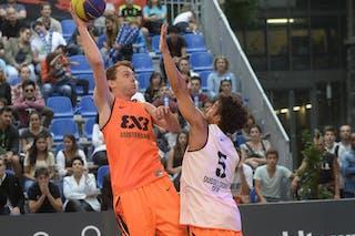 #4 Sjoerd Van Vilsteren, Team Amsterdam, FIBA 3x3 World Tour Lausanne 2014, day 1, 29. August.