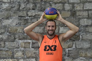 #7 Erzen Jure, Team Kranj, FIBA 3x3 World Tour Lausanne 2014, 29-30 August.