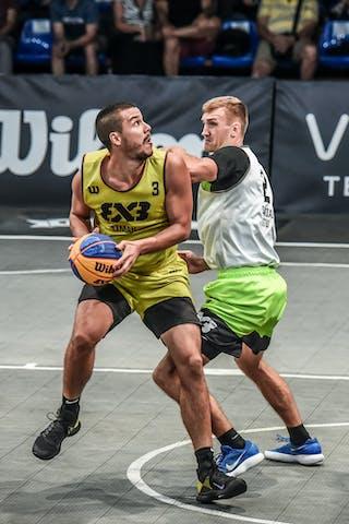 2 Paulius Beliavicius (LTU) - 3 Mihailo Vasic (SRB)