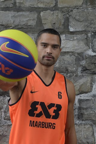 #6 Bohm Dave, Team Marburg, FIBA 3x3 World Tour Lausanne 2014, 29-30 August.
