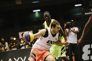 #6 Kavgic Adin, Team Trbovlje, FIBA 3x3 World Tour Final Tokyo 2014, 11-12 October.