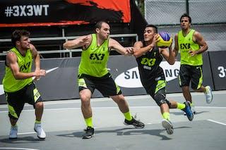 #7 Peralvo Vilo, Team Quito, FIBA 3x3 World Tour Rio de Janeiro 2014, 27-28 September.