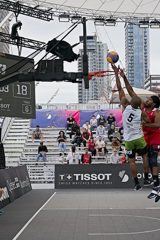 FIBA 3x3, World Tour 2021, Mtl, Can, Esplanade Place des Arts. QF 4- Princeton vs. Winnipeg
