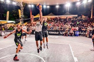 4 Lazar Rasic (SRB) - 5 Yino Martinez (SUI) - 5 Nikola Vukovic (SRB) - 6 Oliver Vogt (SUI) - 3 Marco Lehmann (SUI) - Zemun v Lausanne, 2016 WT Lausanne, Pool, 26 August 2016