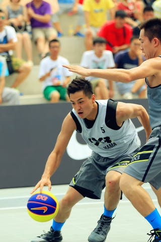 #5 Tatsuro Taniguchi, Team Yokohama, 2014 World Tour Beijing, 3x3game, 03 August, Day 2.
