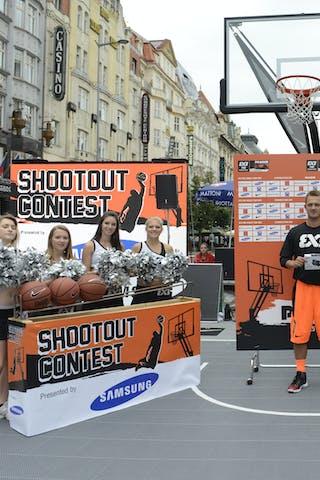 Samsung shoot out contest Jelgava (Latvia) 2013 FIBA 3x3 World Tour Masters in Prague