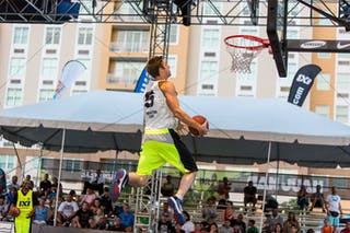Dunk contest qualification at the San Juan Masters 10-11 August 2013 FIBA 3x3 World Tour, San Juan, Puerto Rico