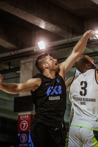 6 łukasz Muszyński (POL) - 3 Dusan Domovic Bulut (UAE) - Novi Sad AlWahda v Gdansk, 2016 WT Beijing, Final, 17 September 2016