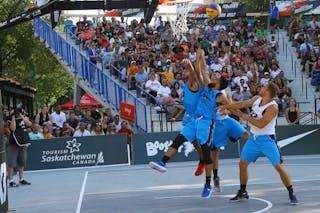 3 Ondřej šiška (CZE) - 4 Tjader Fernandez (PUR) - 3 Jorge Matos (PUR) - Humpolec vs Gurabo FIBA 3x3 Saskatoon 2017 (Can)