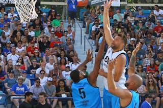 6 Xavier Zambrana (PUR) - 5 Angel Matias (PUR) - 5 Ondřej Dygrýn (CZE) - Humpolec vs Gurabo FIBA 3x3 Saskatoon 2017 (Can)