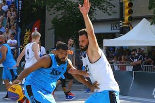 6 Roman Zachrla (CZE) - 5 Angel Matias (PUR) - Humpolec vs Gurabo FIBA 3x3 Saskatoon 2017 (Can)