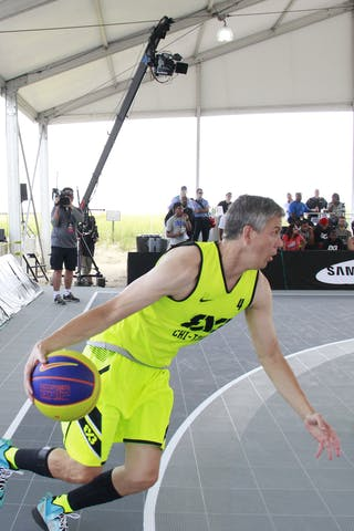 #4 Arne Duncan, Team Chi-Town, 2014 World Tour Chicago, 3x3 Game. 16 August. Day 2.