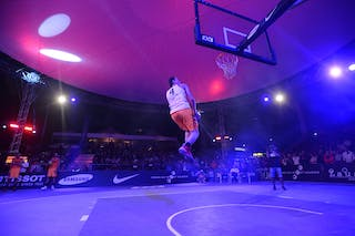#4 Sjoerd Van Vilsteren, Team Amsterdam, dunk contest, FIBA 3x3 World Tour Lausanne 2014, Day 1, 29. August.