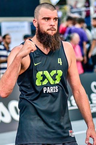 4 Charles Bronchard (FRA) - Lausanne v Paris, 2016 WT Lausanne, Last 8, 27 August 2016