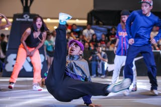 Dance crew, 2014. World Tour Manila, 3x3game, 20. JUly