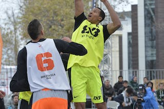 #6 NY (Staten) Brezovica (Slovenia)  2013 FIBA 3x3 World Tour final in Istanbul