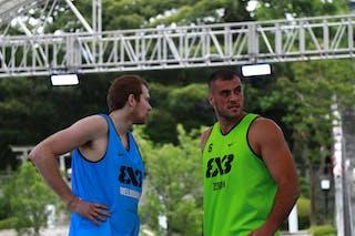 6 Thomas Garlepp (AUS) - 6 Nikola Vukovic (SRB) - Pool 1 C 1: Zemun vs. Melbourne i-Athletic