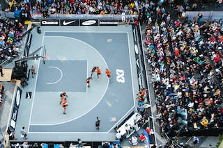 World Tour 2014 Prague. 3x3 Game.