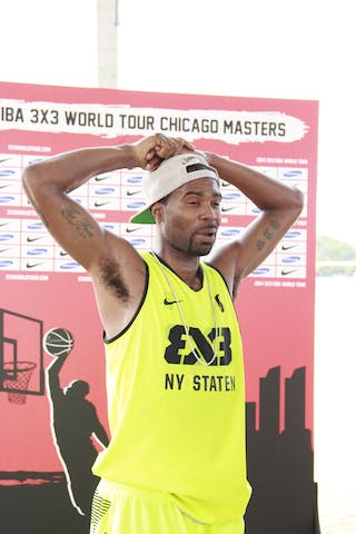 Taylor Zaire, Team NY Staten, 2014 World Tour Chicago. 3x3 game. 16 Agust. Day 2.