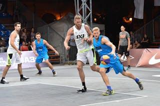 6 Vitaliy Vintonyak (UKR) - 7 Blaz Cresnar (SLO) - Ljubljana v Dnipro, 2016 WT Debrecen, Pool, 7 September 2016