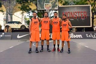 Team Istanbul. Yunus YURTTAGUL (Turkey); Gürcan CÜCELOĞLU (Turkey); Mustafa  DURUTURK  (Turkey); Anil UGUR  (Turkey), 2015 WT Lausanne, Pool, 28 August 2015