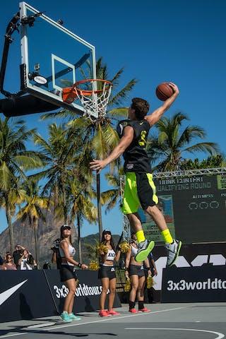 #3 Fortaleza (Brazil) Dunk contest 2013 FIBA 3x3 World Tour Rio de Janeiro