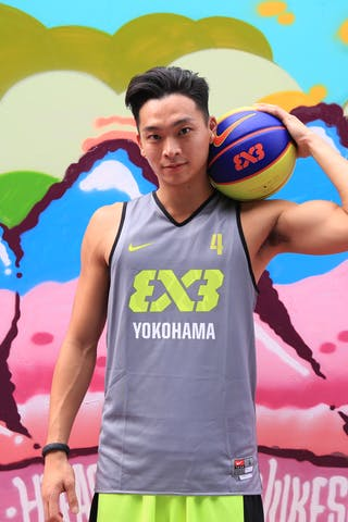 #4 Ochiai Tomoya, Team Yokohama, FIBA 3x3 World Tour Beijing 2014, 2-3 August.