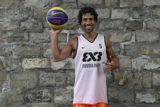 #5 Sadek Farid, Team Dusseldorf, FIBA 3x3 World Tour Lausanne 2014, 29-30 August.