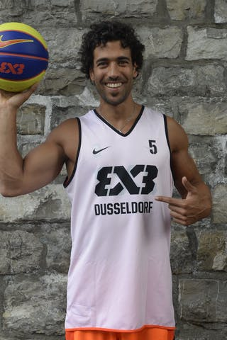 #5 Sadek Farid, Team Dusseldorf, FIBA 3x3 World Tour Lausanne 2014, 29-30 August.