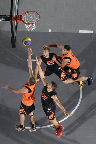 Team Kaunas vs Team Ostrava. 2014 World Tour Prague. 3x3 Game. 23 August. Day 1.
