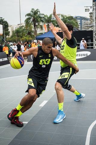 #5 Santos Cardoso Assis, Team Rio, FIBA 3x3 World Tour Rio de Janeiro 2014, Day 2, 28. September.