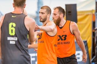 3 Marko Savić (UAE) - 6 Kevin Corre (MON)