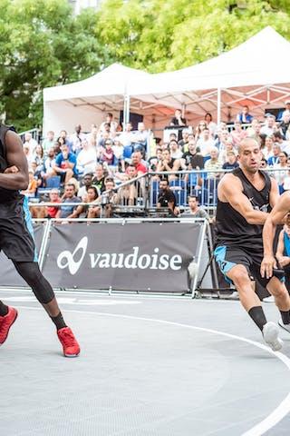 5 Badara Top (SUI) - 5 Dominique Gentil (FRA) - 6 Charles Bronchard (FRA) - 3 Gilles Martin (SUI)