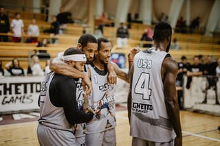 4 Marcel Esonwune (USA) - 3 Antoinne Morgano (USA) - 2 Dominique Jones (USA) - 1 David Seagers (USA)
