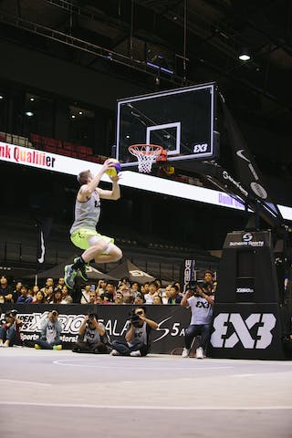 #5 Lieffers Michael, dunk contest, Team Saskatoon, FIBA 3x3 World Tour Final Tokyo 2014, 11-12 October.