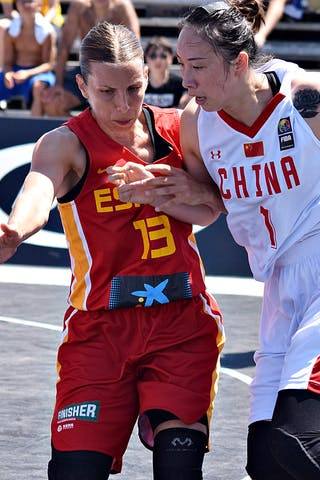 7 Di Wu (CHN) - 13 Sandra Ygueravide (ESP)