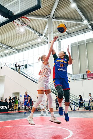 3 Loyce Bettonvil (NED) - 13 Khulan Onolbaatar (MGL) - Game1_Mongolia vs Netherlands