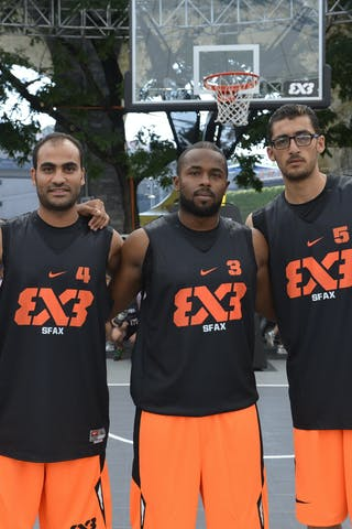 Sfax (Tunisia) 2013 FIBA 3x3 World Tour Masters in Lausanne