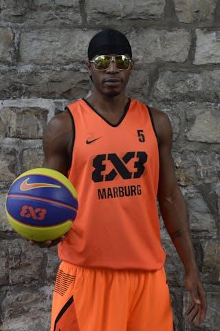 #5 Godfrey Phil, Team Marburg, FIBA 3x3 World Tour Lausanne 2014, 29-30 August.