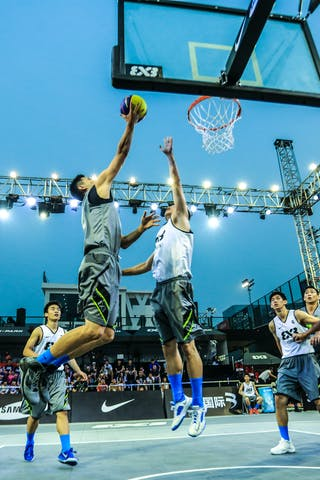Team Yokohama, 2014 World Tour Beijing, 3x3game, 2-3 August.