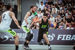 6 Marko Dugosija (UAE) - 4 Marko Zdero (UAE) - 3 Zhanyu Wang (CHN) - Novi Sad AlWahda v Zheng Zhou, 2016 WT Beijing, Pool, 16 September 2016