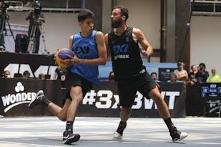 5 Felipe Camargo (BRA) - 7 Sebastian Figueroa (ARG)